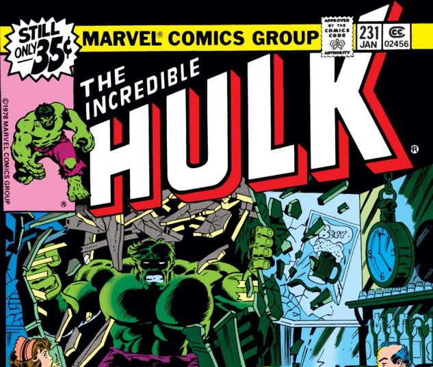 Incredible Hulk (1962) #231 Cover
