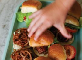 Captain America's Sloppy Joe Sliders by John Besh