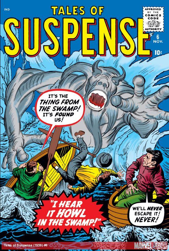 Tales of Suspense (1959) #6
