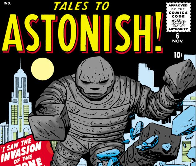 Tales to Astonish (1959) #6 Cover
