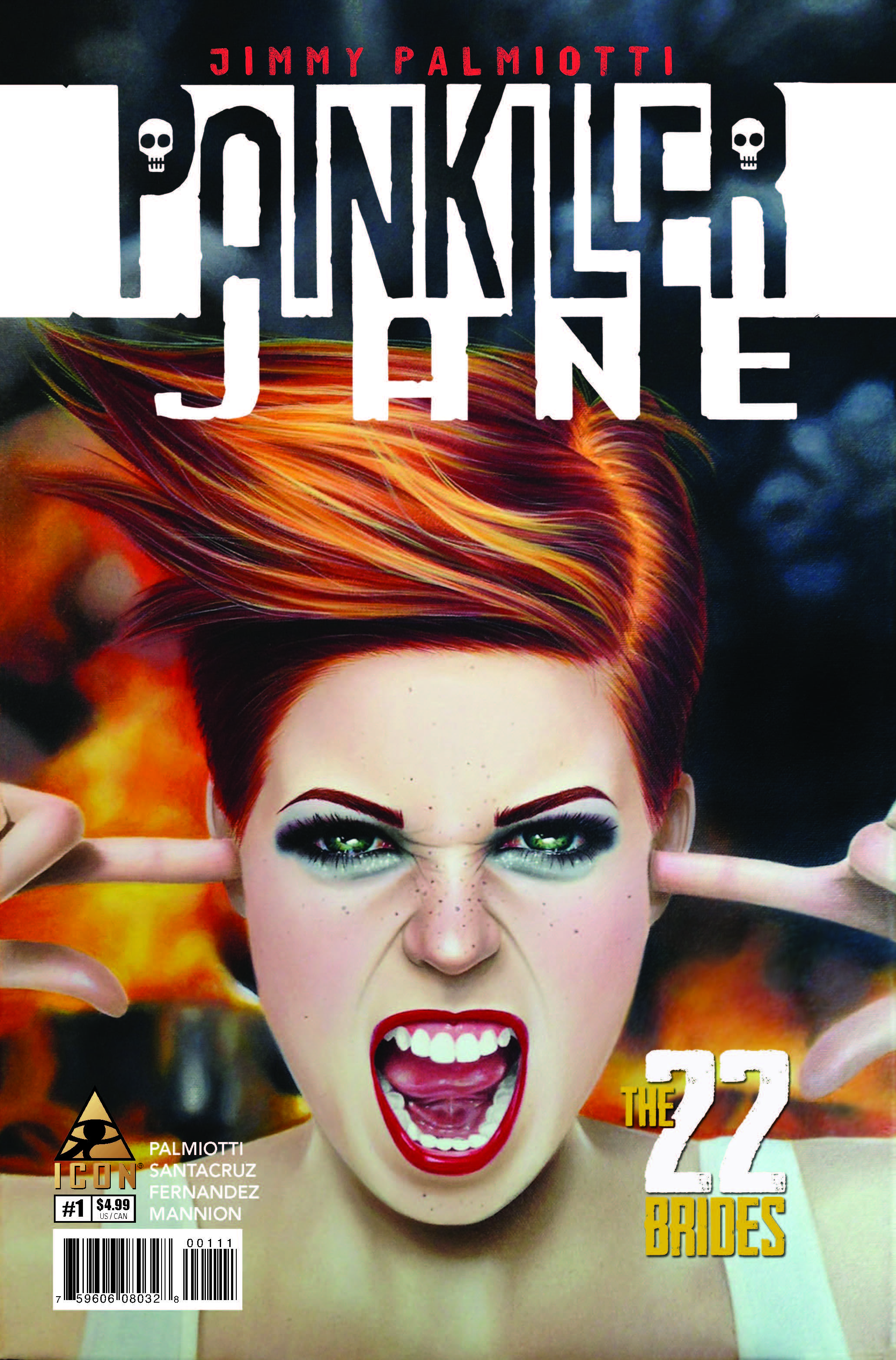 Painkiller Jane: The 22 Brides (2014) #1