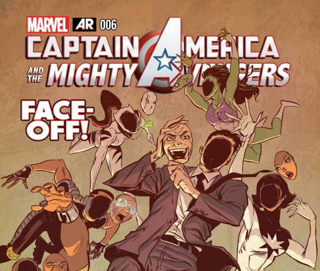 CAPTAIN AMERICA & THE MIGHTY AVENGERS 6 (WITH DIGITAL CODE)
