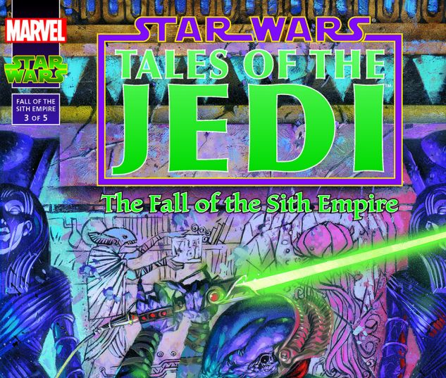 Star Wars: Tales Of The Jedi - The Fall Of The Sith Empire (1997) #3