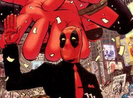 Deadpool #1 cover by Tony Moore