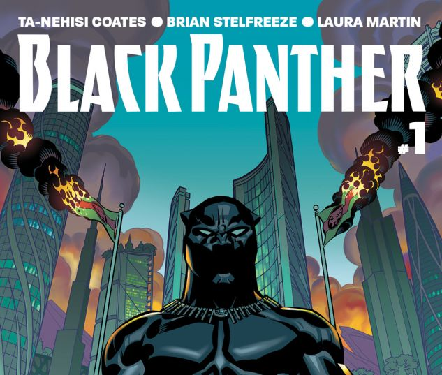 Black Panther (2016) #1 cover by Brian Stelfreeze