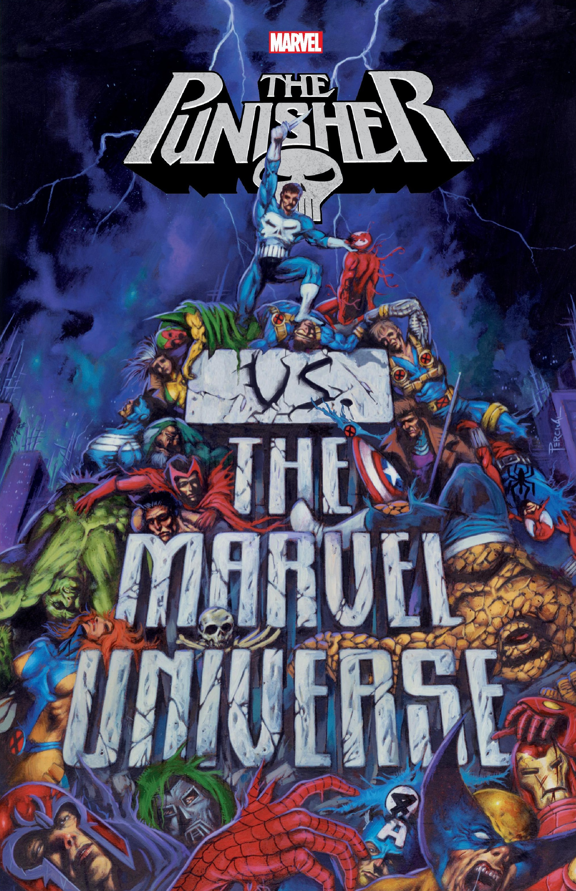 Punisher Vs. the Marvel Universe (Trade Paperback)