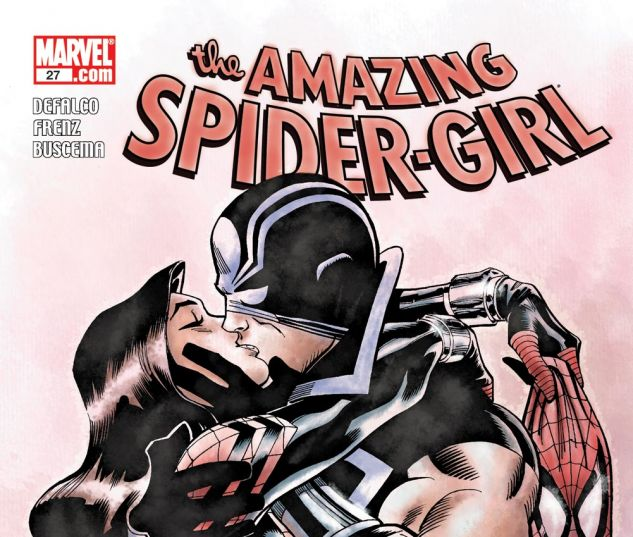 AMAZING SPIDER-GIRL (2006) #27 Cover