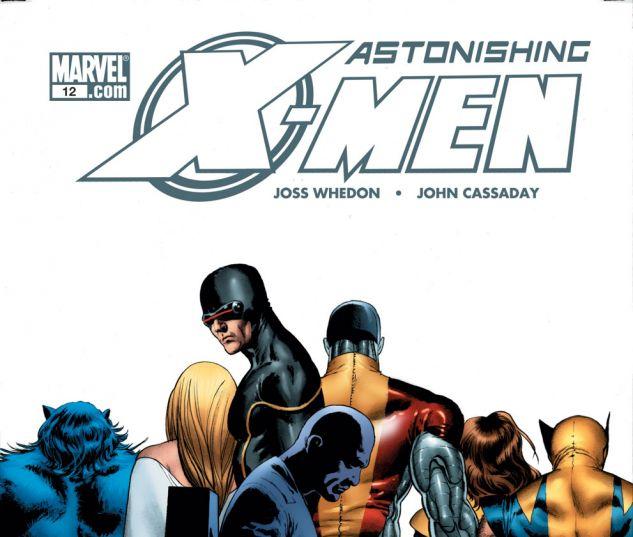 ASTONISHING X-MEN (2004) #12 Cover