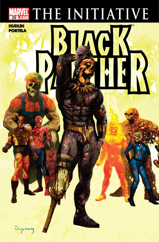 Black Panther (2005) #29