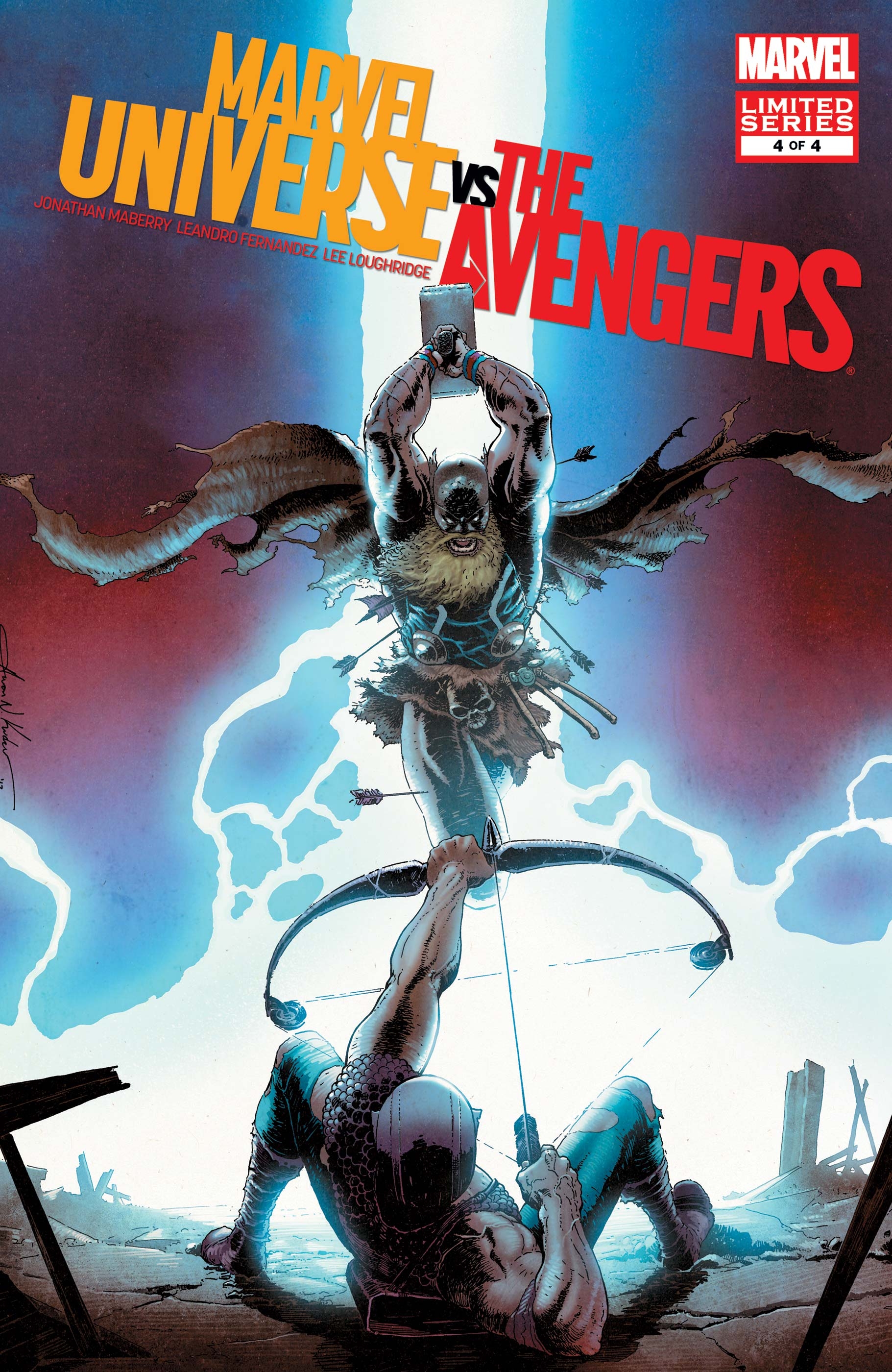 Marvel Universe vs. The Avengers (2012) #4