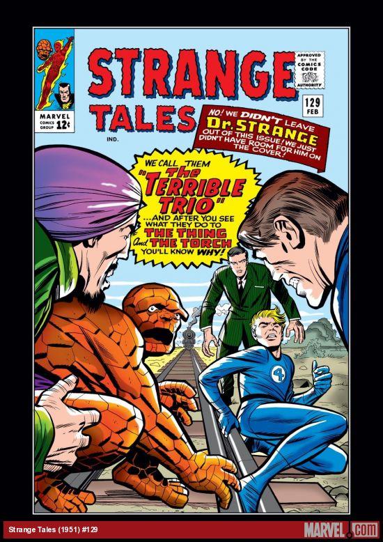 Strange Tales (1951) #129