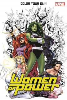 Color Your Own Women of Power (Trade Paperback)
