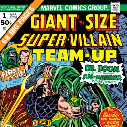 Giant-Size Super Villain Team-Up (1975) #1