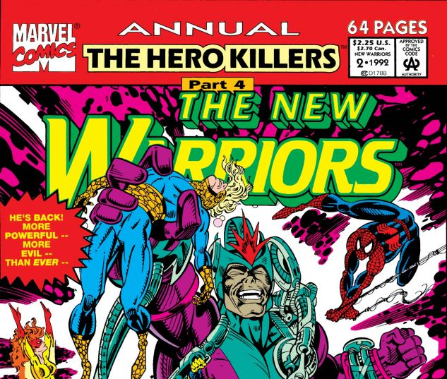 New Warriors Annual (1991) #2
