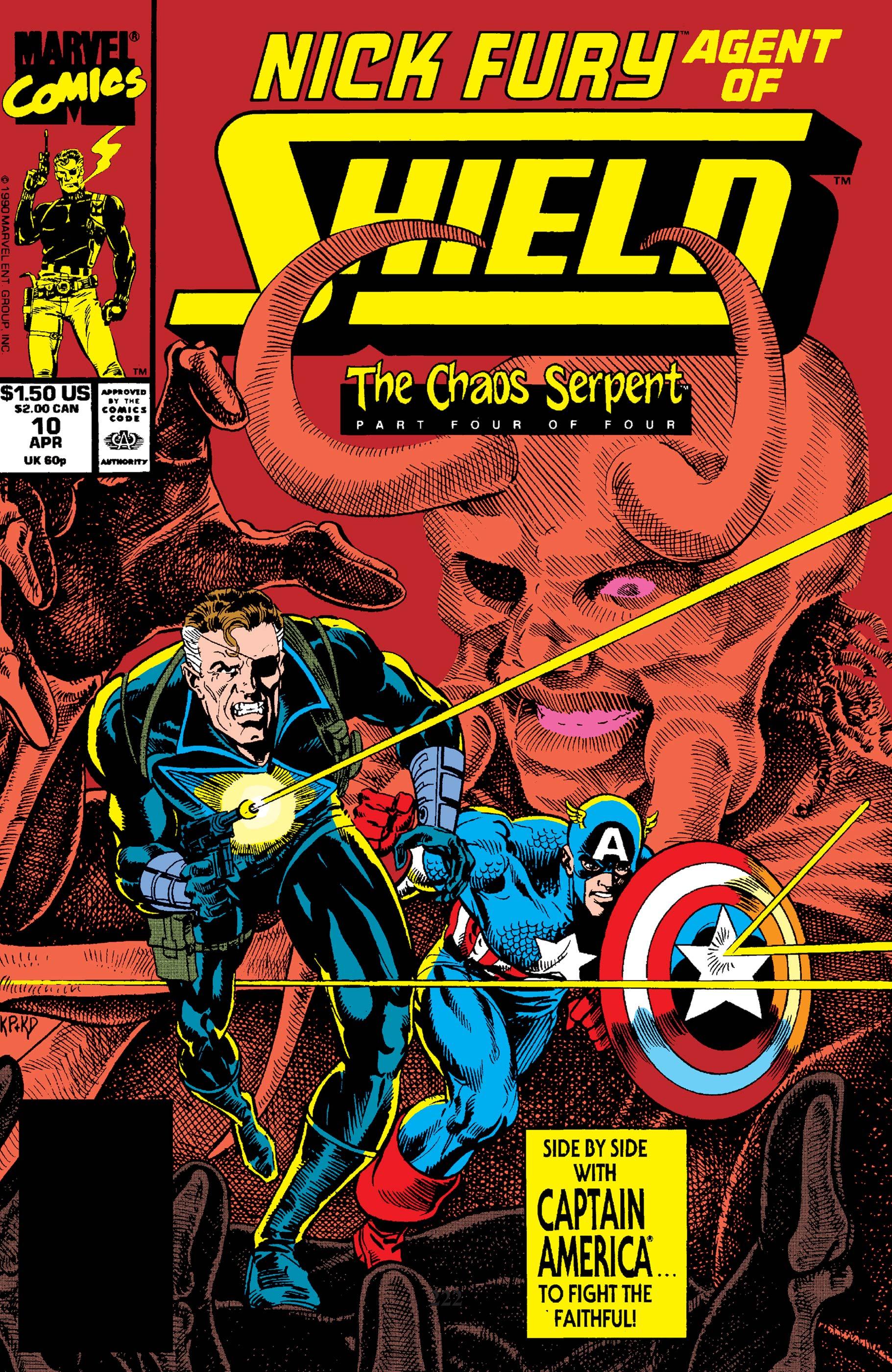 Nick Fury, Agent of S.H.I.E.L.D. (1989) #10