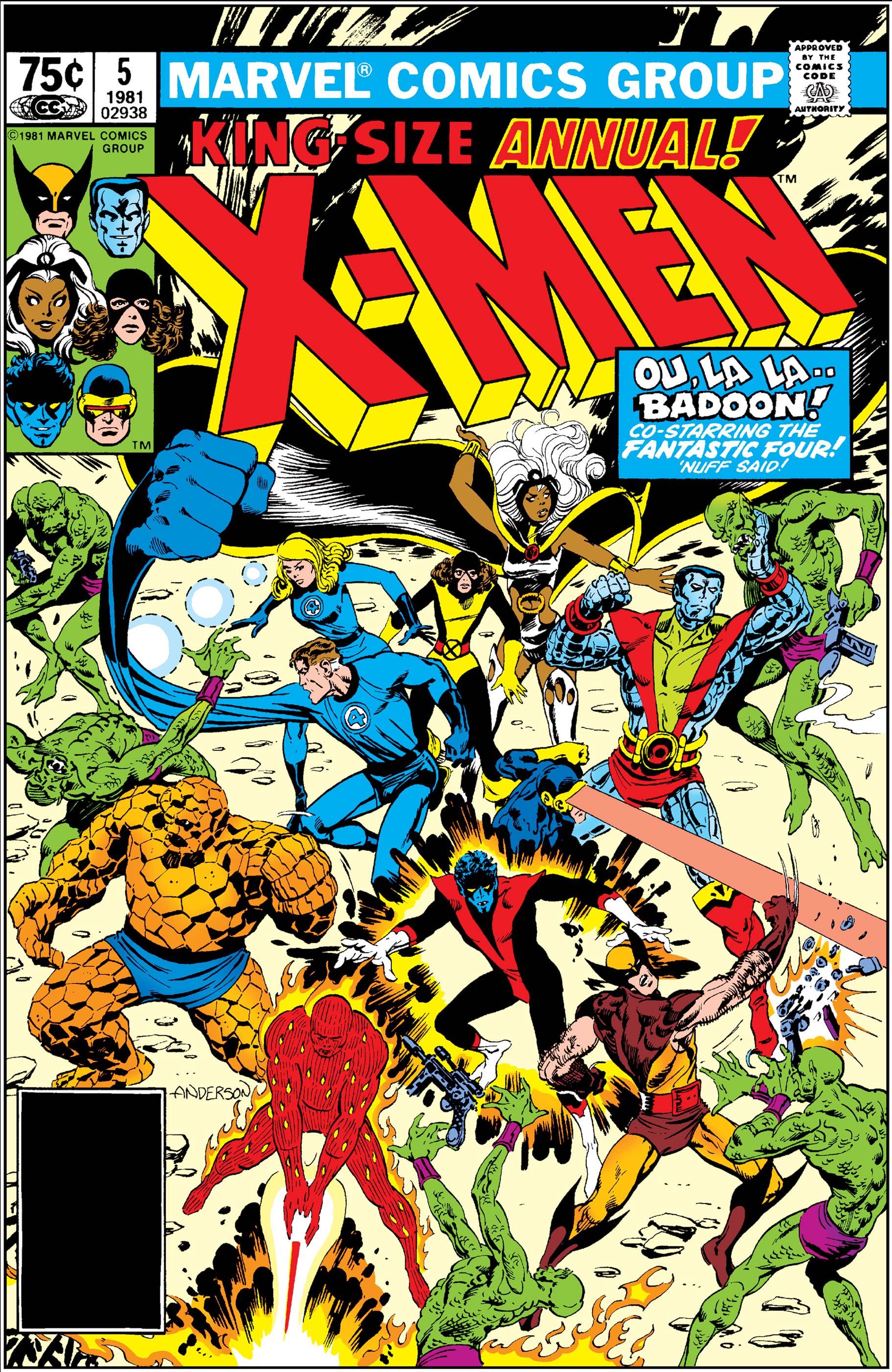 X-Men Annual (1970) #5