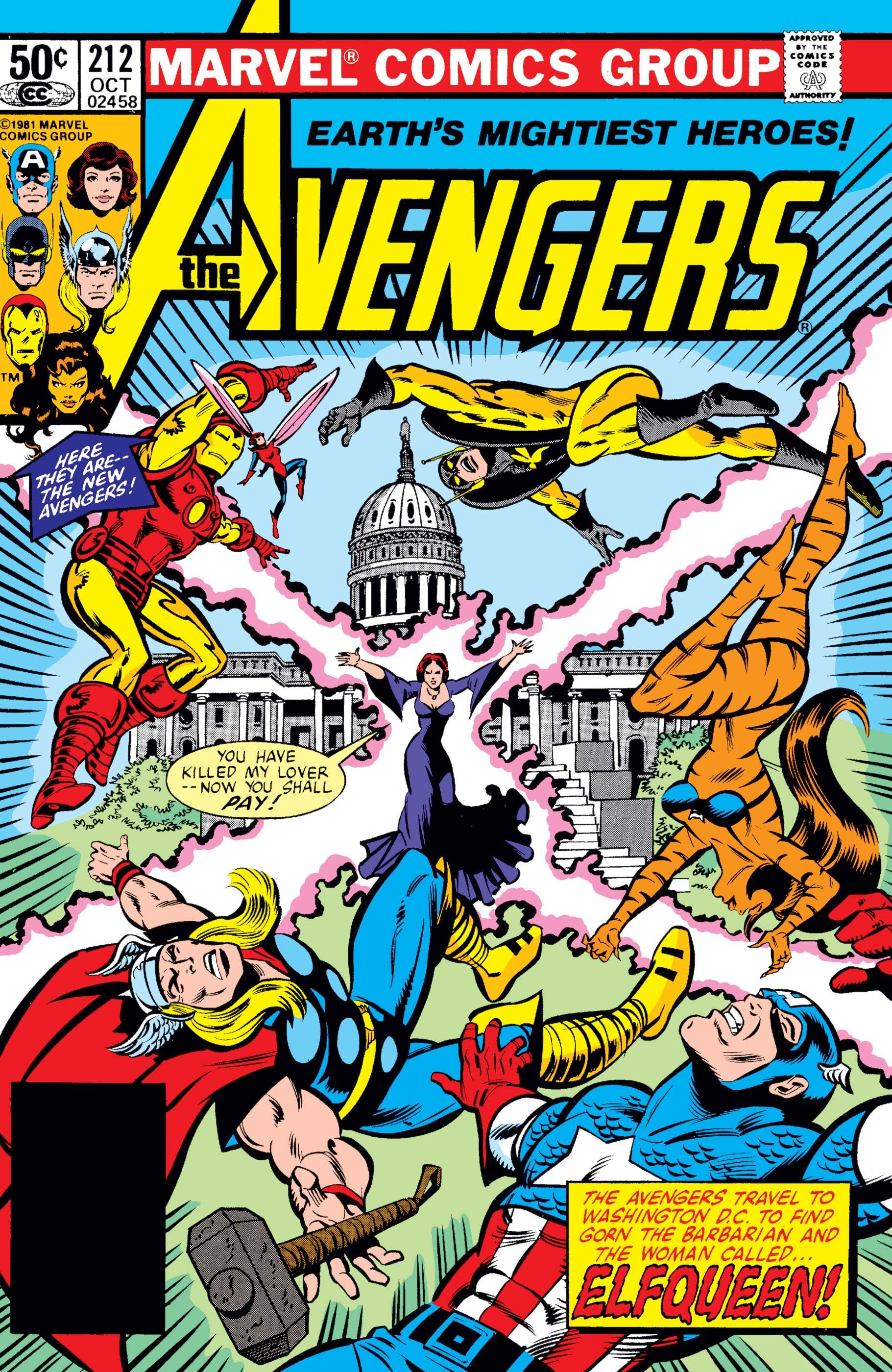 Avengers (1963) #212
