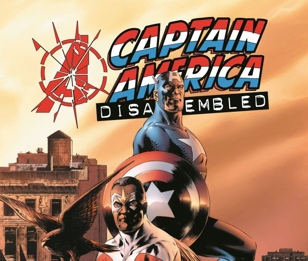 AVENGERS DISASSEMBLED: CAPTAIN AMERICA 0 cover