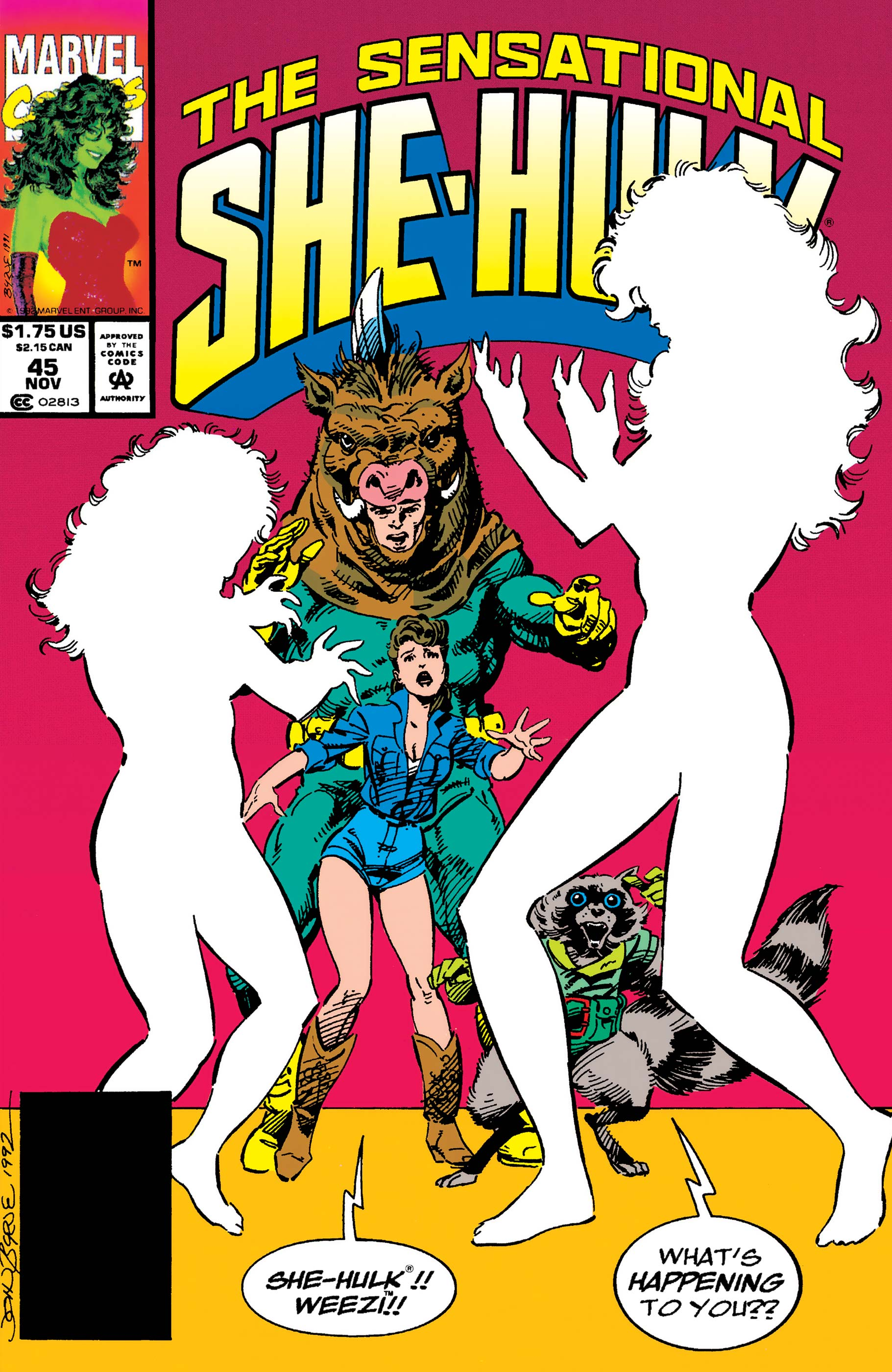 Sensational She-Hulk (1989) #45