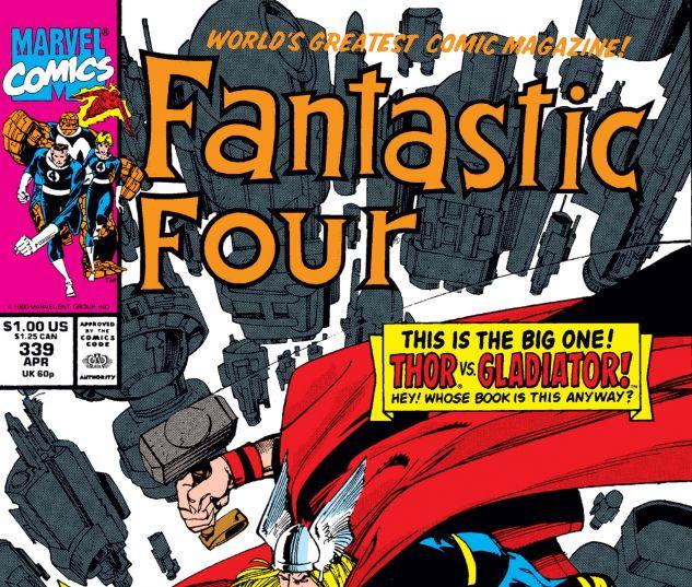 Fantastic Four (1961) #339