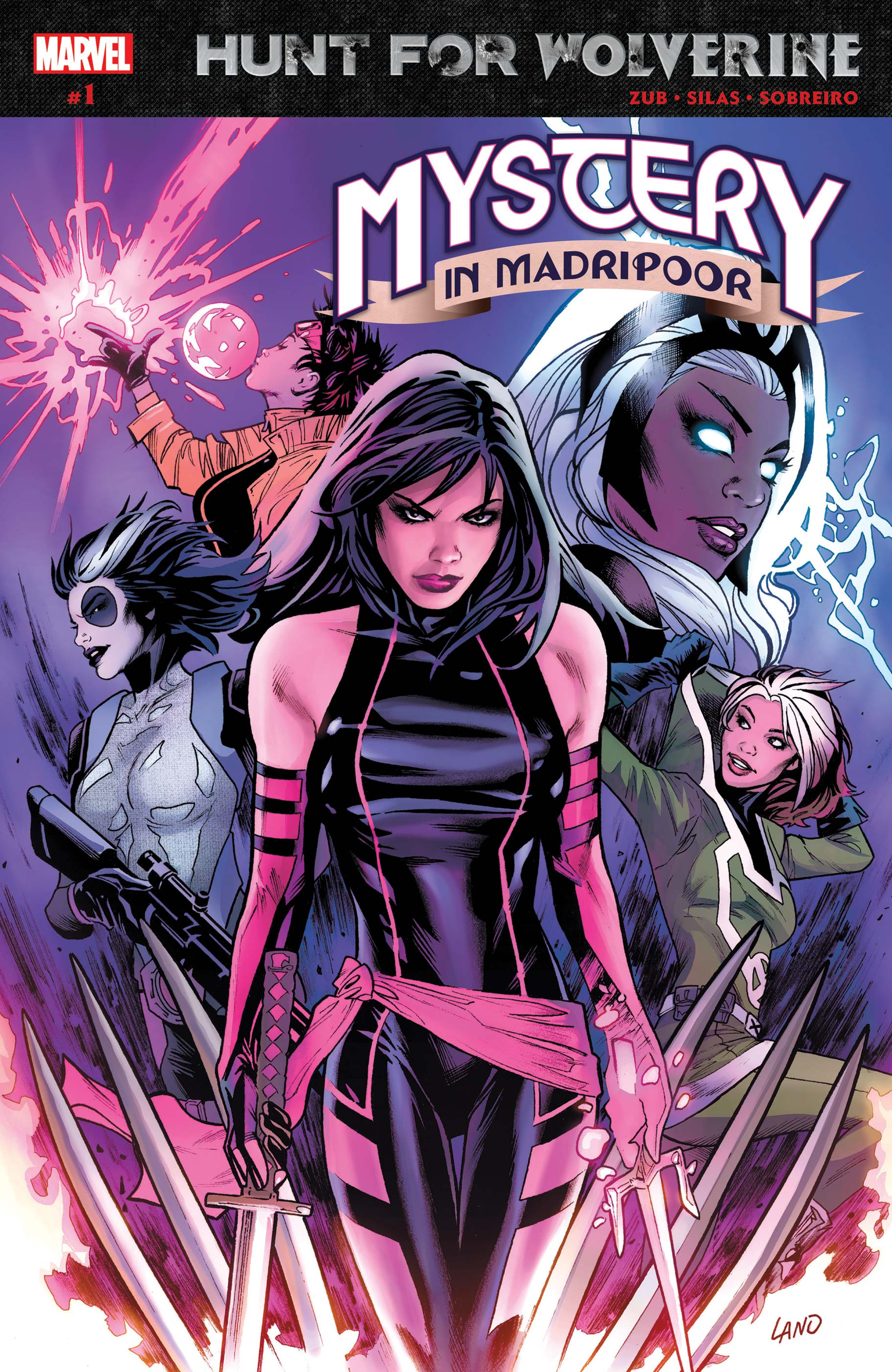 Hunt for Wolverine: Mystery in Madripoor (2018) #1