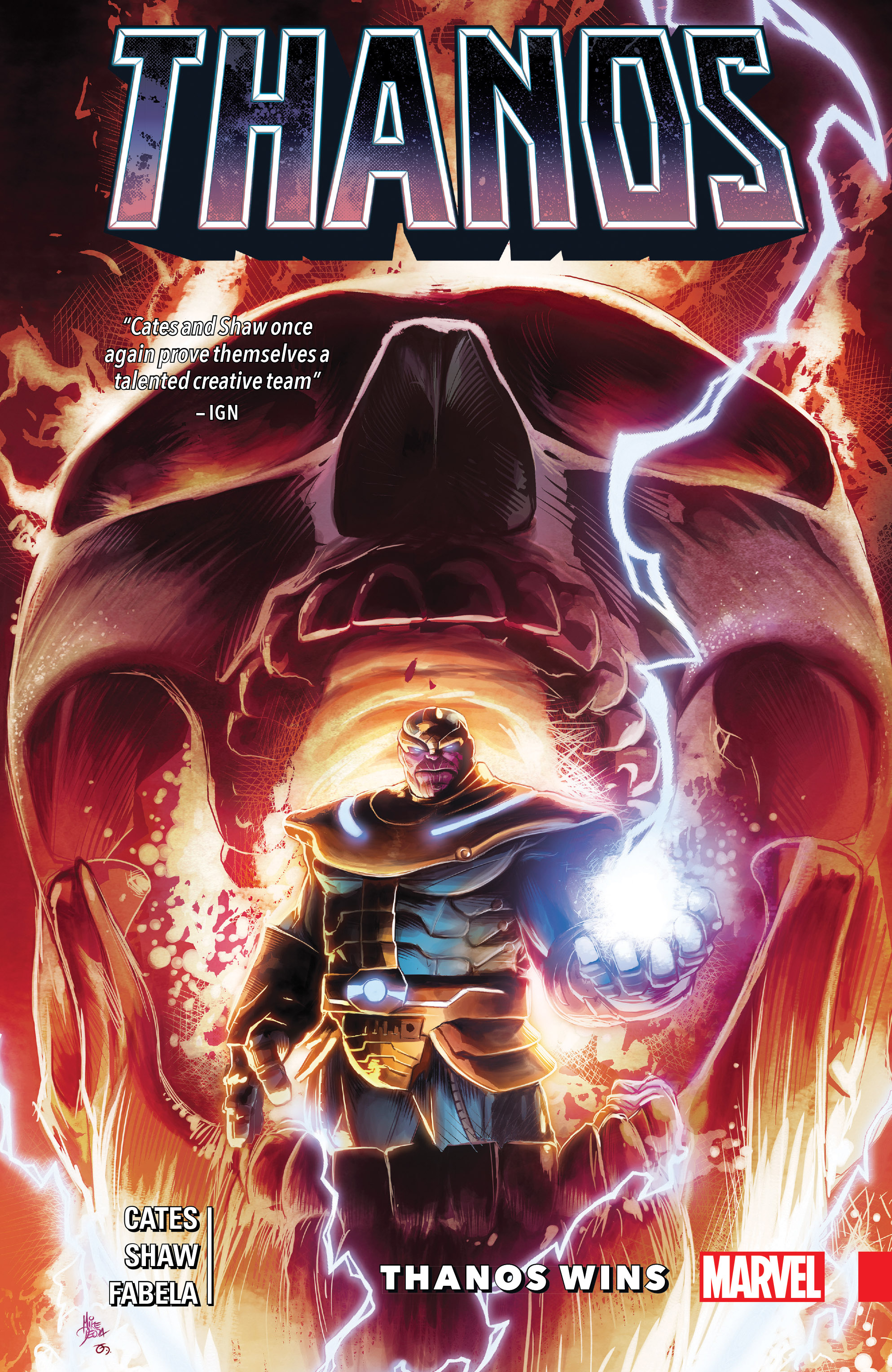 Thanos Wins By Donny Cates (Trade Paperback)
