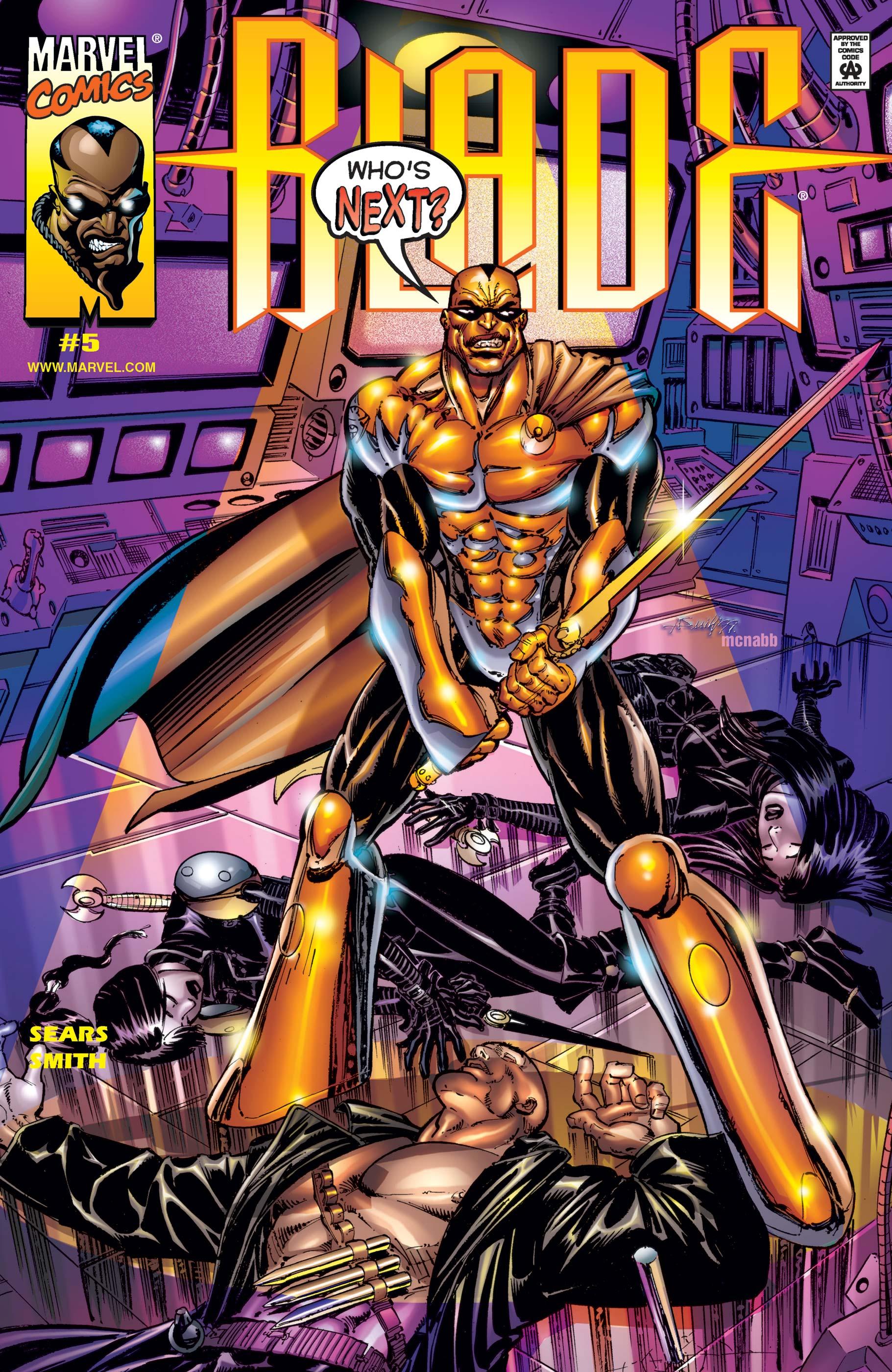 Blade: Vampire Hunter (1999) #5