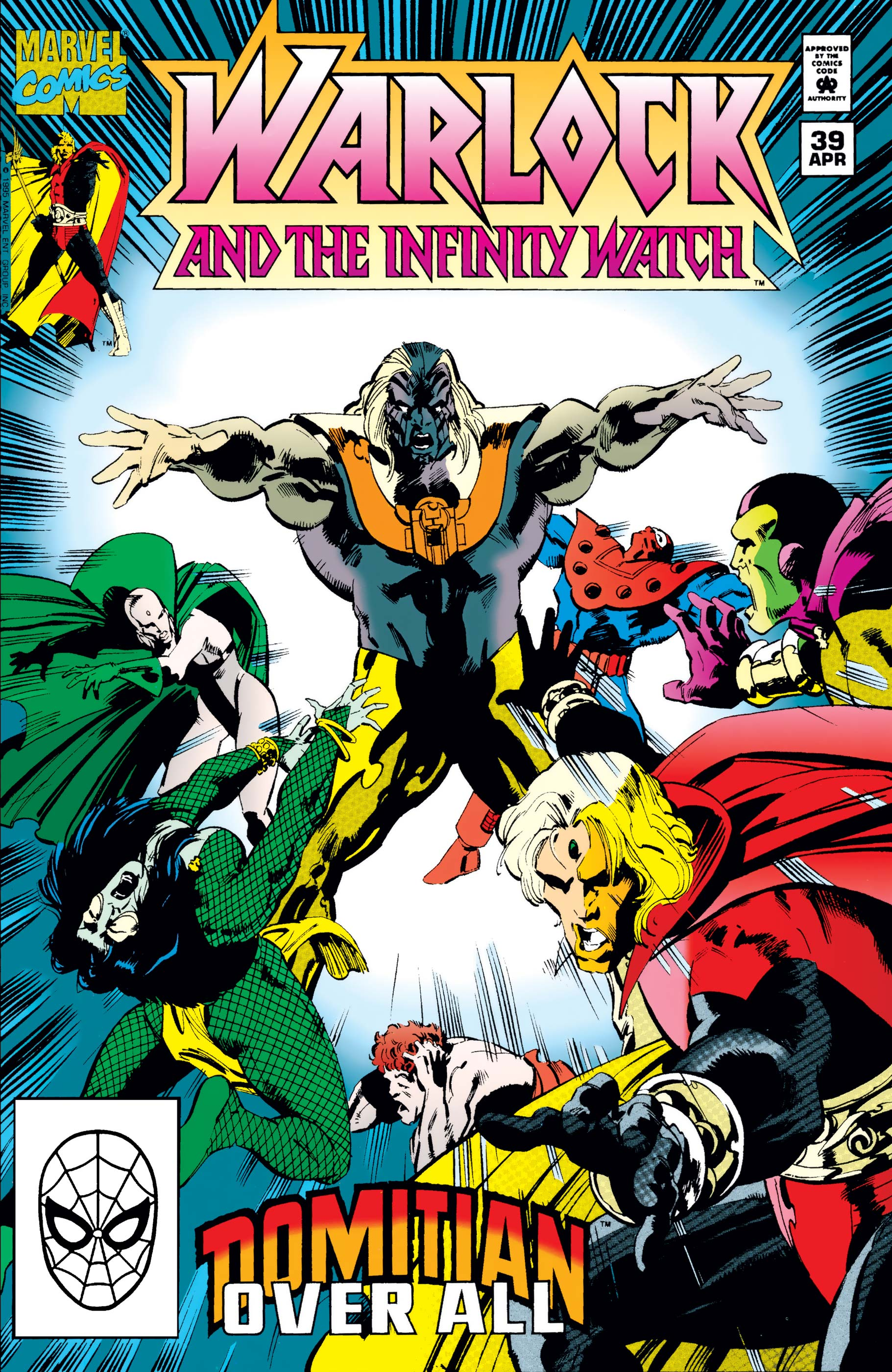 Warlock and the Infinity Watch (1992) #39