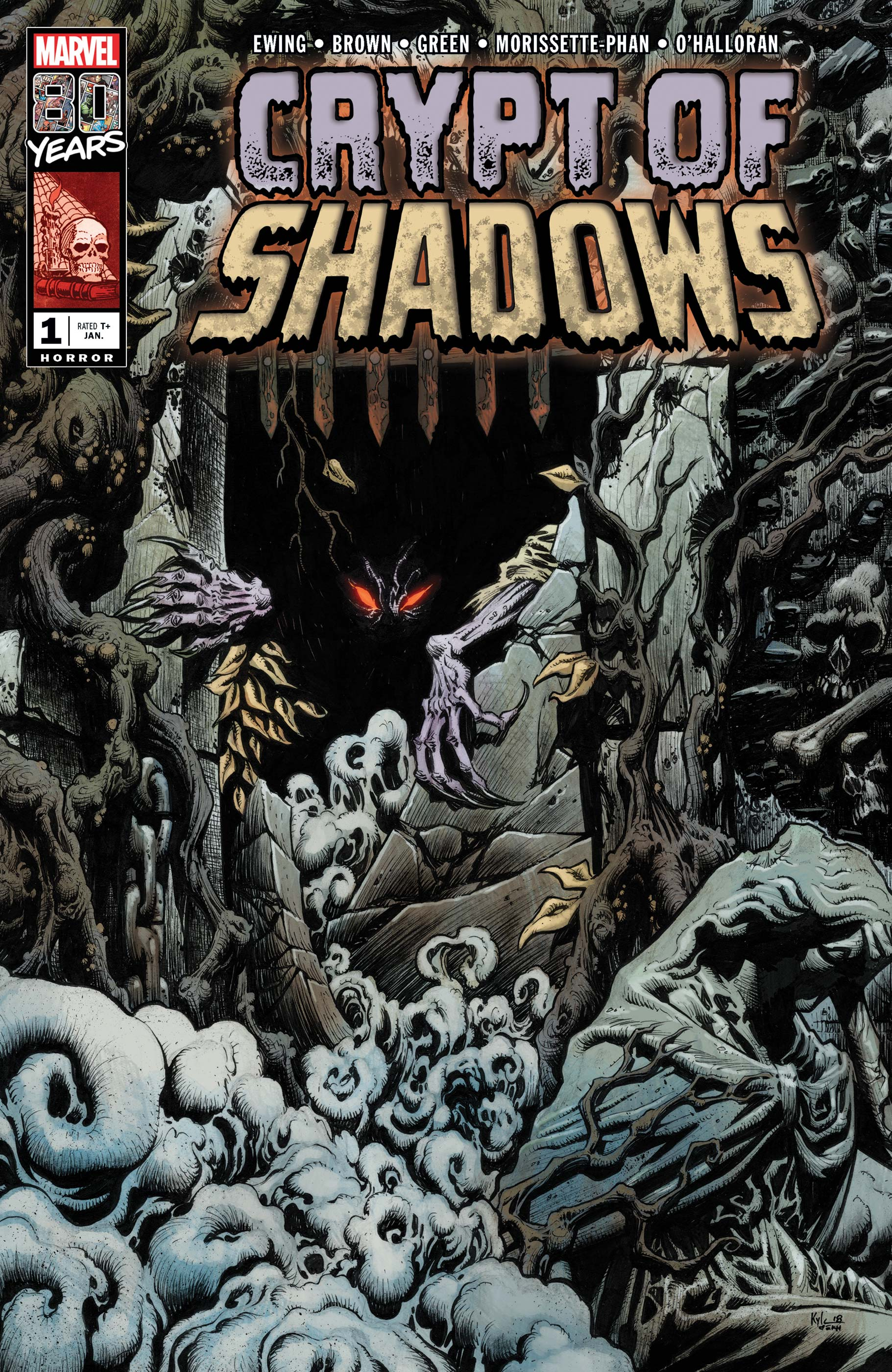 Image result for crypt of shadows #1 Marvel