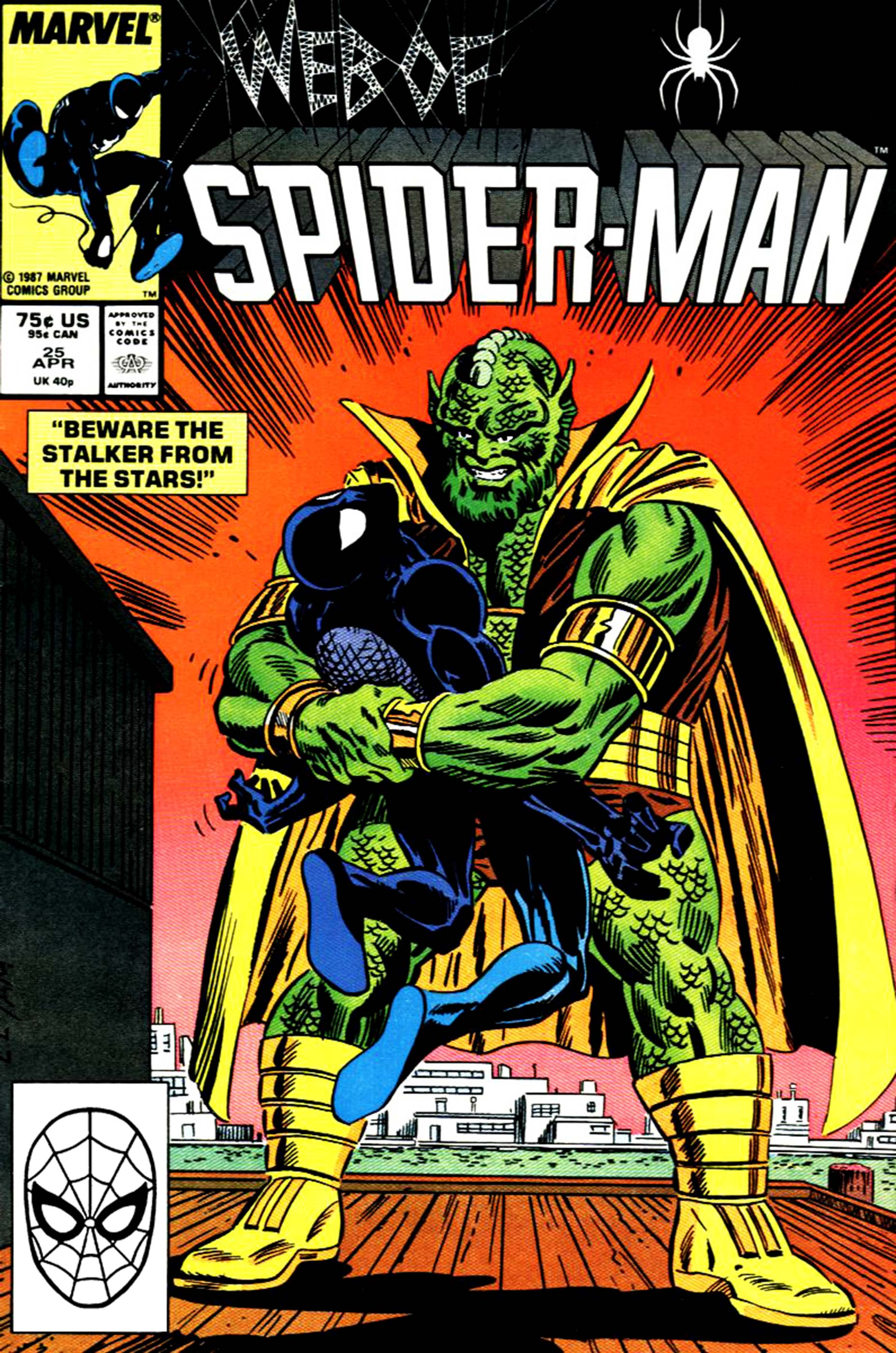 Web of Spider-Man (1985) #25