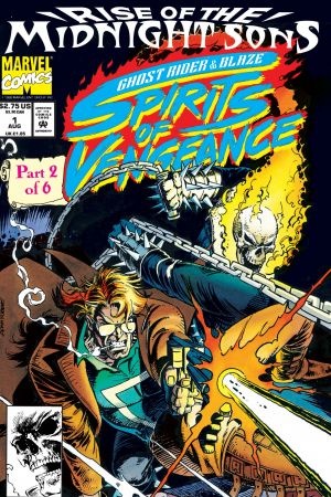 Ghost Rider/Blaze: Spirits Of Vengeance (1992) #1