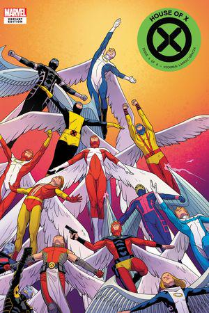 House of X (2019) #4 (Variant)