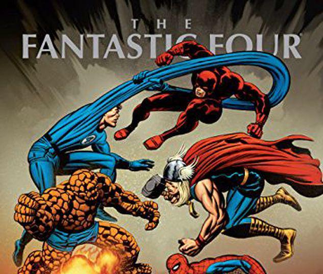 MARVEL MASTERWORKS: THE FANTASTIC FOUR VOL. 8 HC VARIANT #8