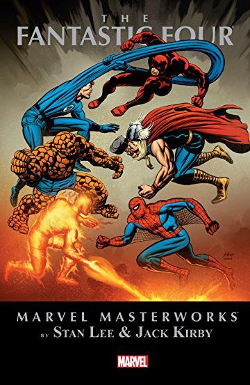 MARVEL MASTERWORKS: THE FANTASTIC FOUR VOL. 8 HC VARIANT (Hardcover)