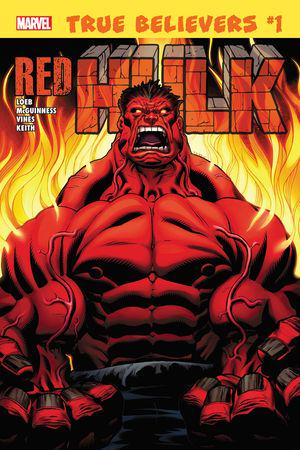 True Believers: Hulk - Red Hulk (2019) #1