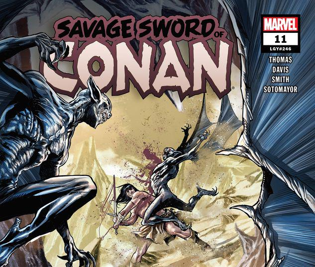 Savage Sword of Conan #11