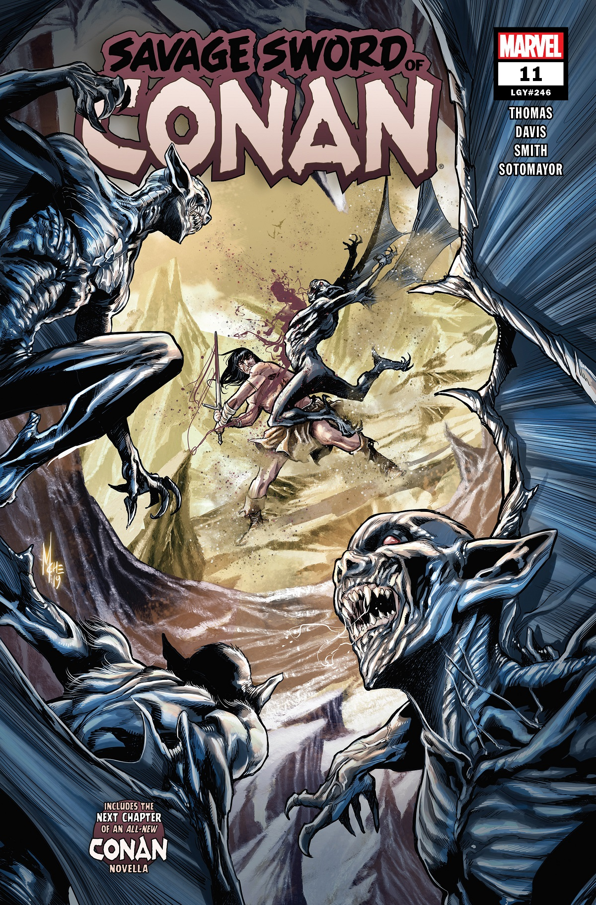 Savage Sword of Conan (2019) #11