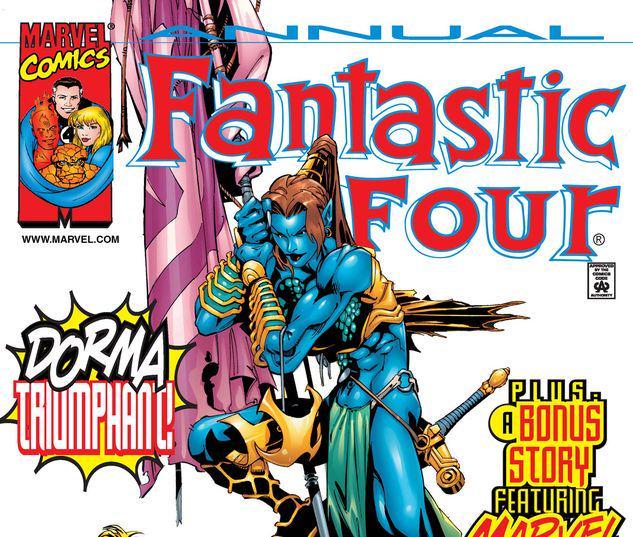 FANTASTIC FOUR ANNUAL 1 #1