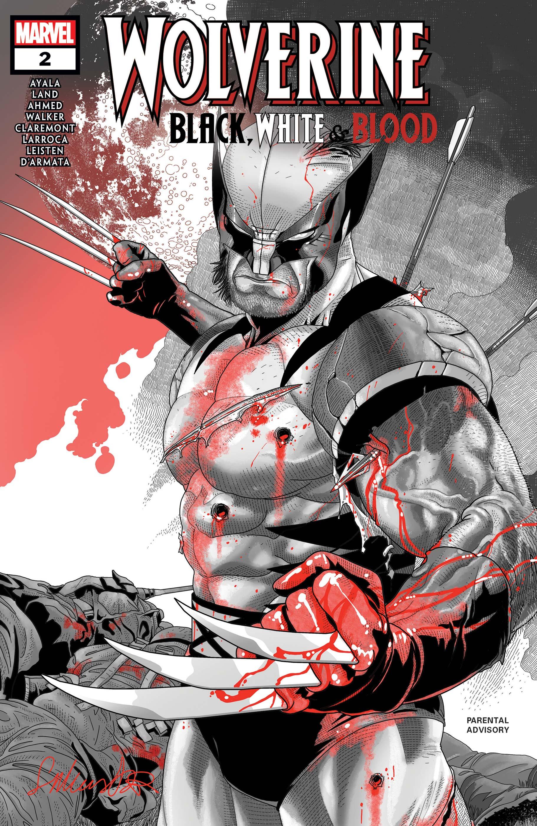 Wolverine: Black, White & Blood (2020) #2