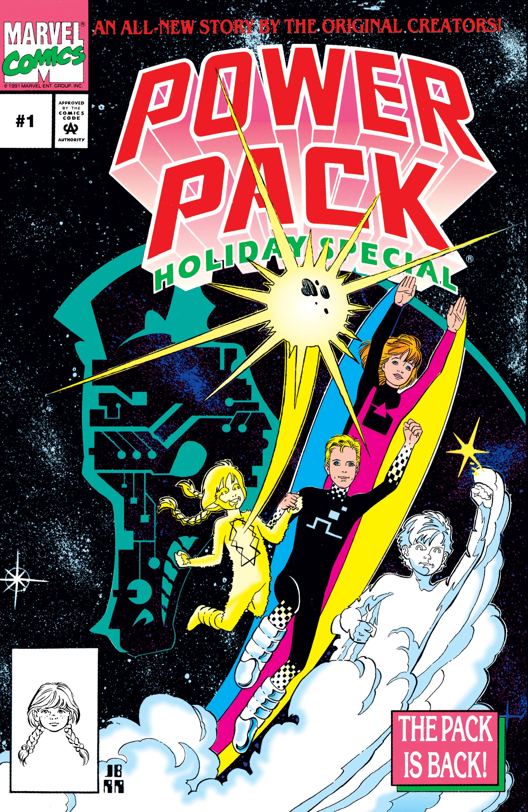 Power Pack Holiday Special (1992) #1