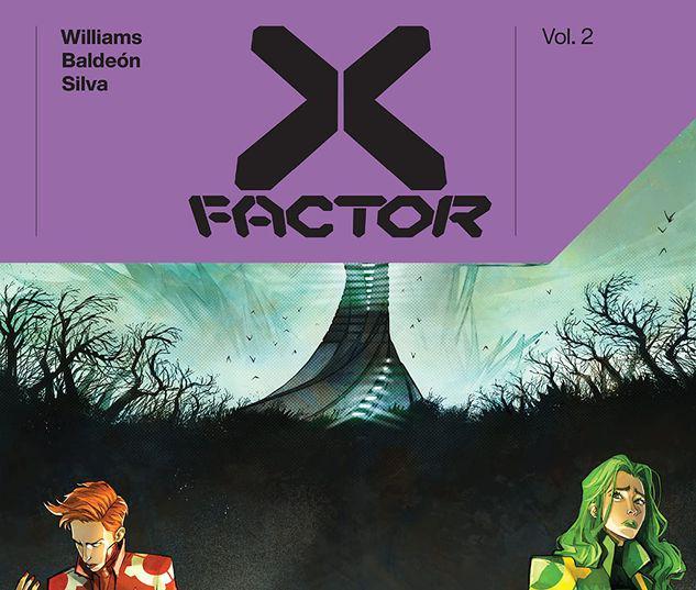 X-FACTOR BY LEAH WILLIAMS VOL. 2 TPB #2