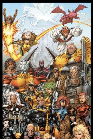 X-Men by Jim Lee Door Poster (All-New Printing) (2009 - Present)