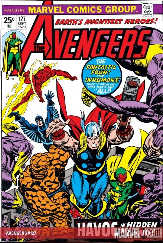 Avengers (1963) #127