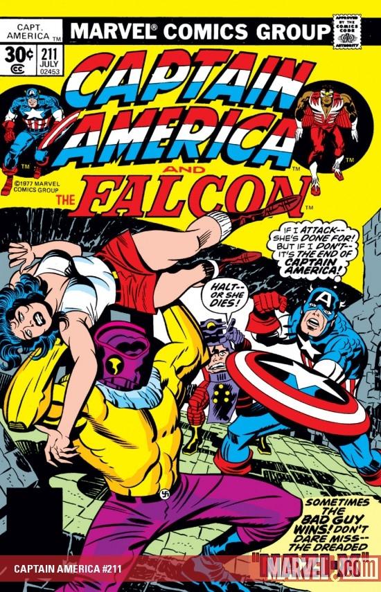 Captain America (1968) #211