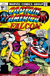 Captain America #211