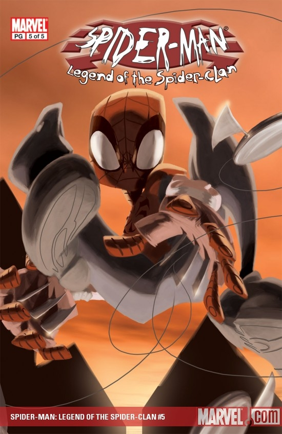 Spider-Man: Legend of Spider Clan (2002) #5