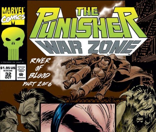 THE PUNISHER: WAR ZONE #32