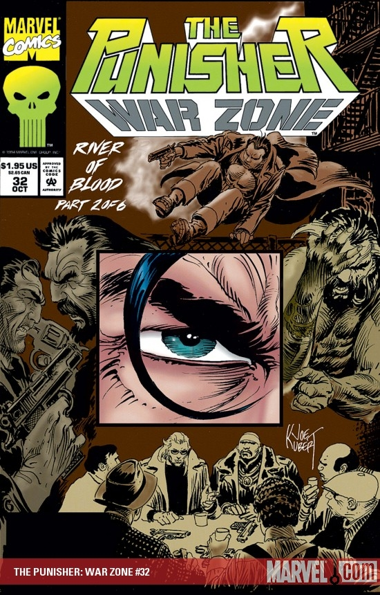 The Punisher War Zone (1992) #32