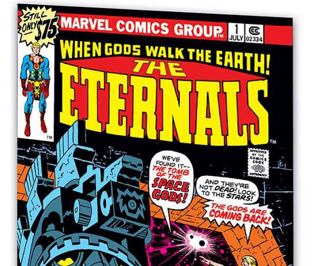 ETERNALS BY JACK KIRBY BOOK 1 #0