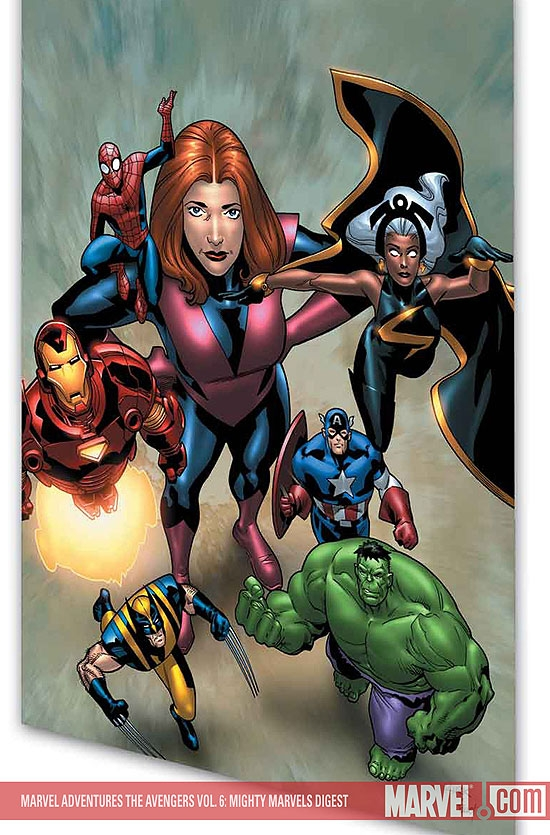 MARVEL ADVENTURES THE AVENGERS VOL. 6: MIGHTY MARVELS DIGEST (Digest)